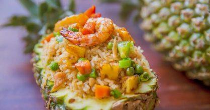Recipe Thai Pineapple Fried Rice