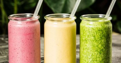 Very Berry Celery Cooler Smoothie