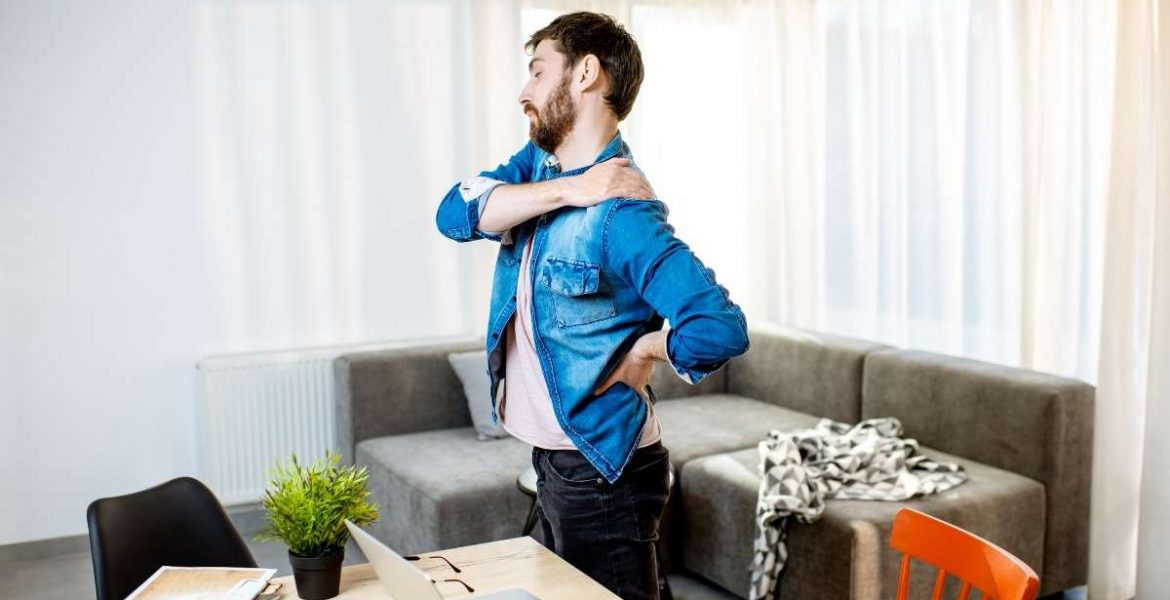 How to reduce back pain from home working?